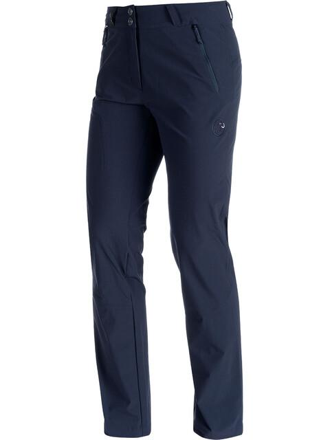 Mammut Runje - Pantalon long Femme - short bleu
